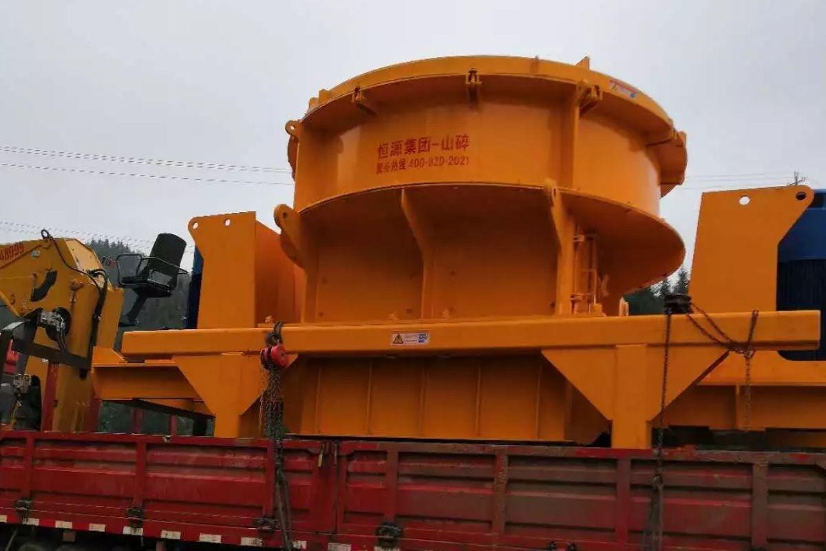 恒源生产的广西砂石生产线设备已成功投入运行
