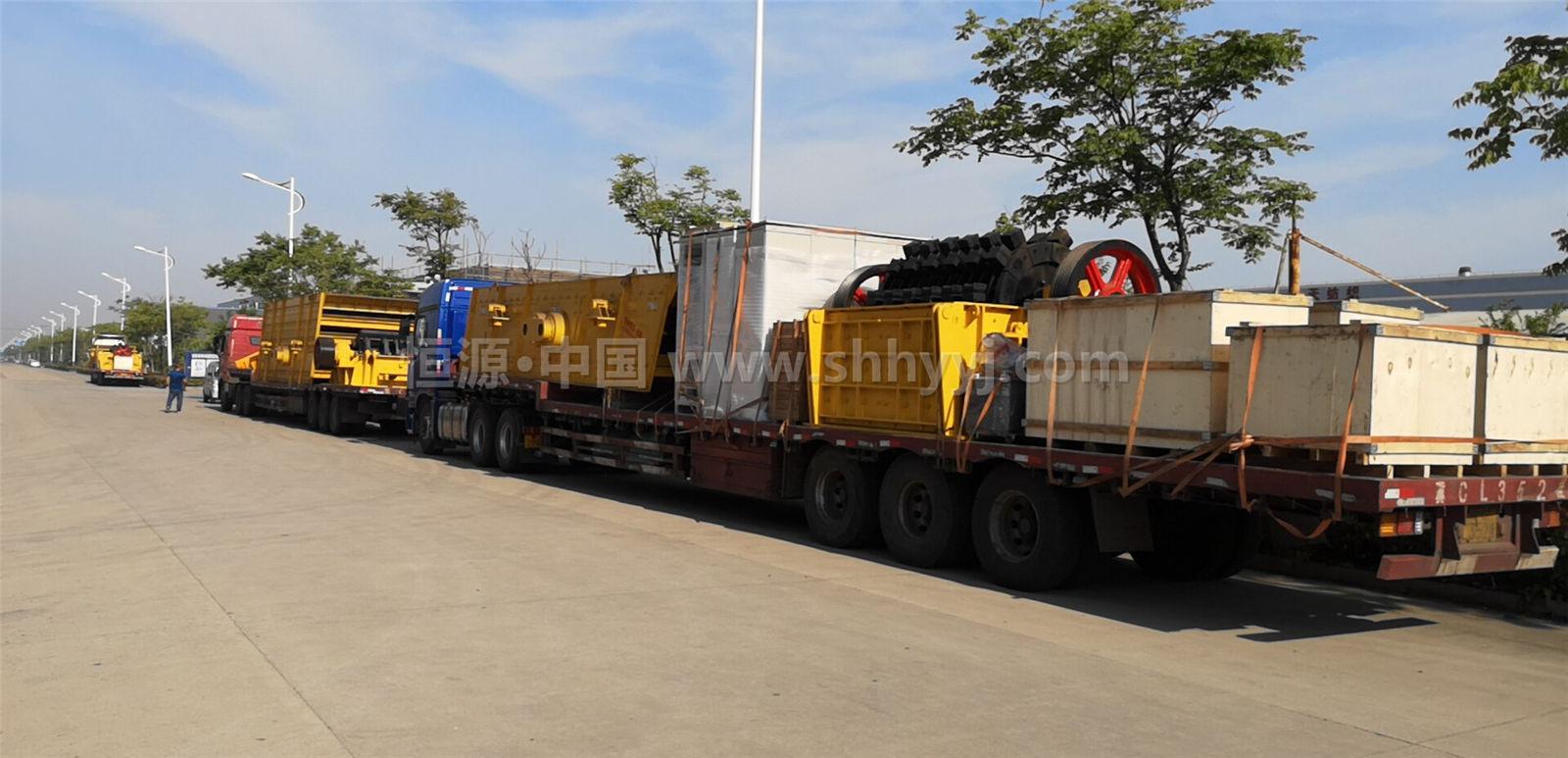 辽宁砂石生产线设备发货实况回顾
