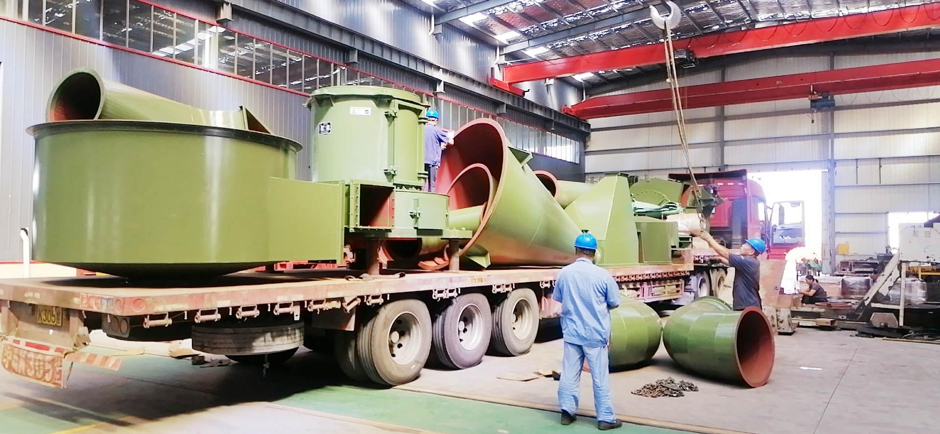 2019年9月7日磨粉机发货实况回顾-上海恒源冶金设备
