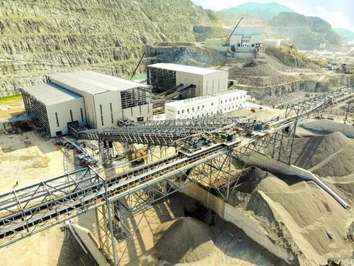 浙江交投山年产1500万吨砂石骨料生产线加快建设