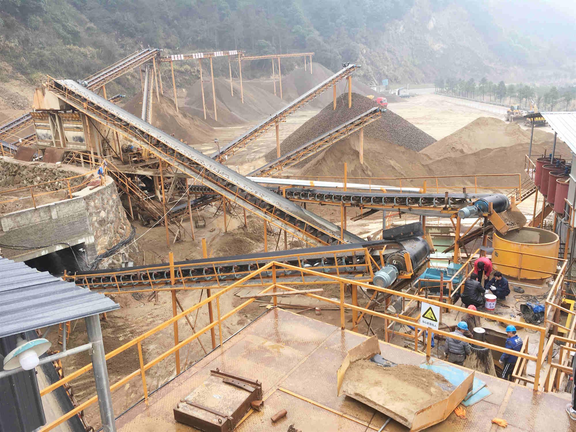 【行业动态】四川雅安严格整顿砂石矿山扬尘污染问题