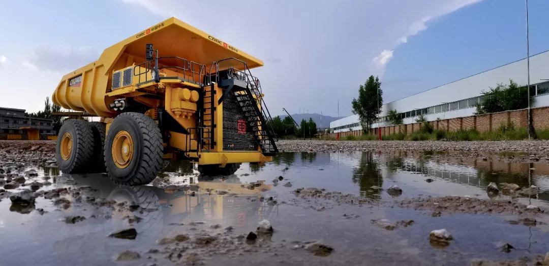 """矿山""""巨无霸""""CR240E矿车工业性试验,核心技术实现国产化"""