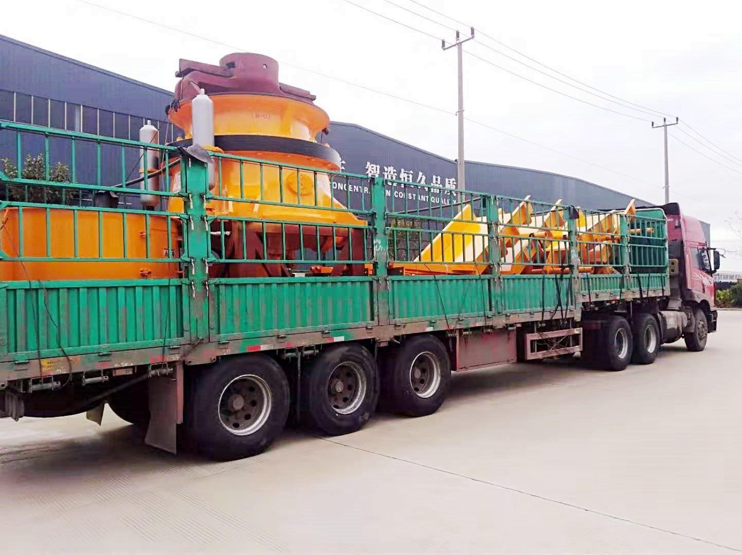 辽宁时产600吨铁矿石生产线设备发货回顾