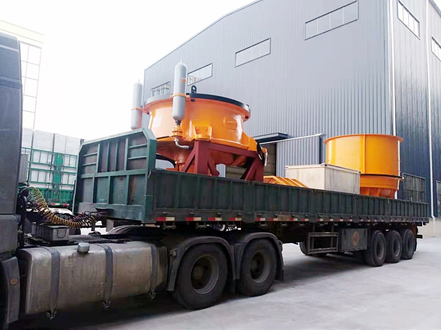 辽宁时产600吨铁矿石生产线设备第2次发货,附视频