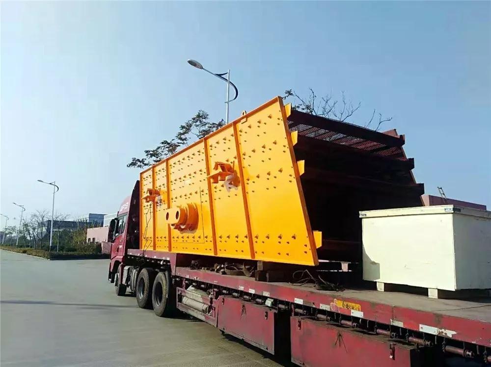 <b>湖南宁乡4YK2475振动筛设备发货回顾</b>