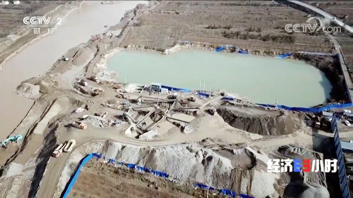 甘肃渭河砂石场导致水土流失,生态环境亟需整治