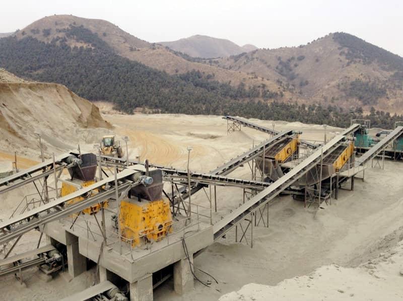 磷灰石(shi)破碎生產線