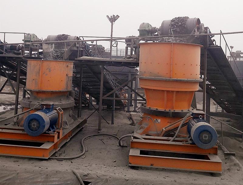 辽宁时产600吨铁矿石选矿生产线破碎设备试机成功