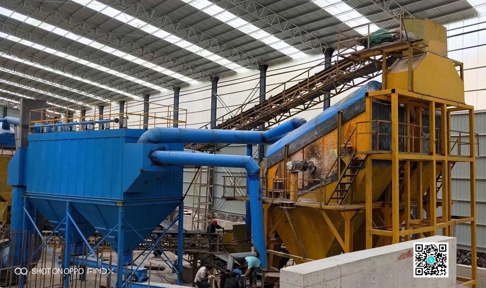 砂石生产线布袋除尘器技术方案