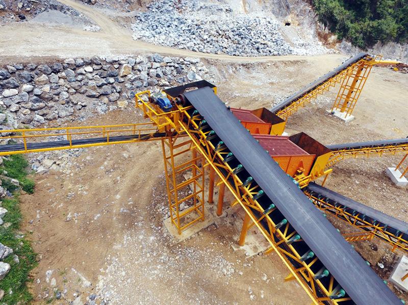 200TPH石灰石生产线破碎机设备配置价格和工艺流程设计方案