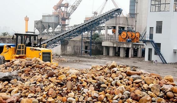 <b>鹅卵石制砂生产线案例</b>