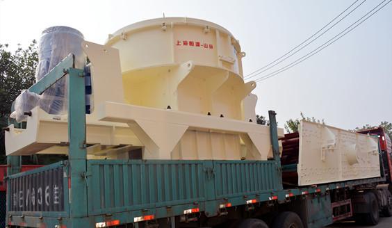 制砂设备-鹅卵石制砂机发货