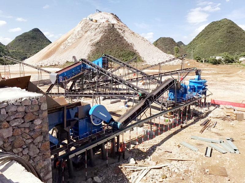 200吨凝灰岩生产线需要哪些破碎设备?附型号和价格