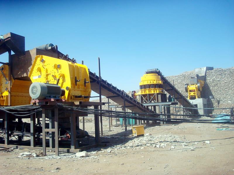 石(shi)灰岩生產線