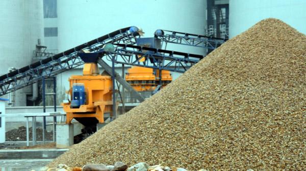 机制砂生产线质量可控为优混凝土的生产提供了稳定的原材料