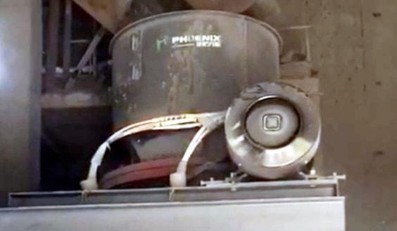 单缸圆锥破碎机在铁矿石生产线现场
