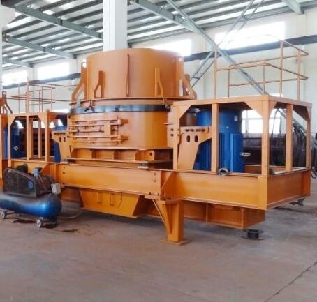 制砂生产线叶轮的功能是将物料加速至一定速度并将其排出