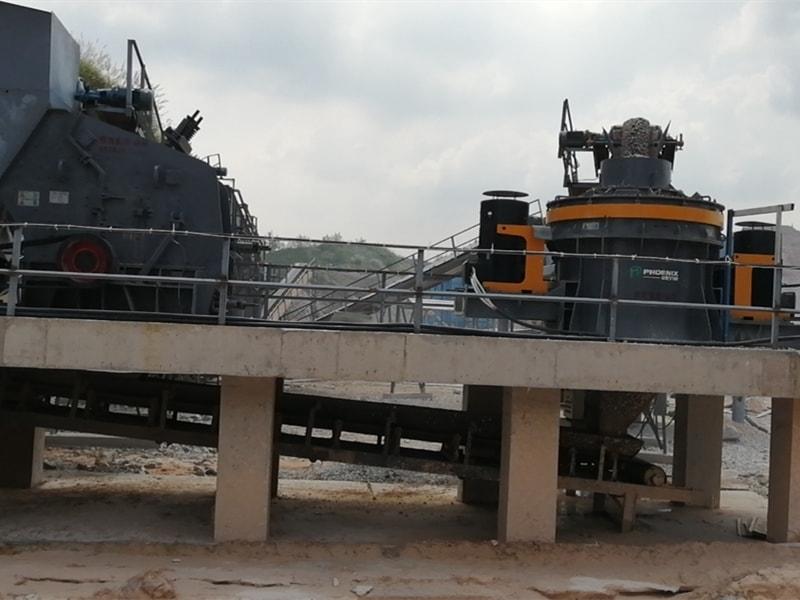石灰岩机制砂生产线