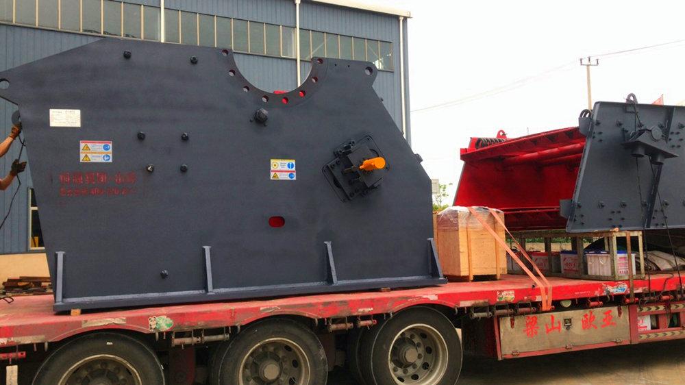 <b>500t/h建筑垃圾再生骨料破碎设备发货</b>
