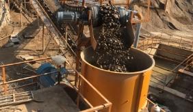 单缸圆锥破砂石生产线视频