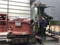 我公司销往南美洲智利的破碎设备已开工