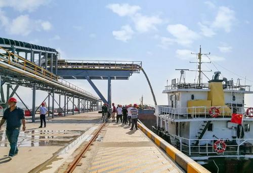 码头物流区实景