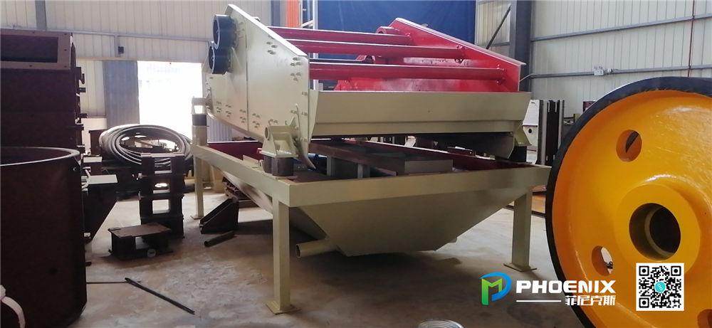 湖南时产500吨砂石骨料生产线设备发货回顾