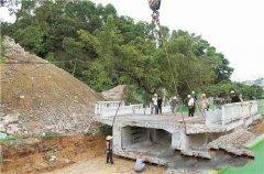 我国将建全国性第一条桥梁拆除废料循环系统运用路面!